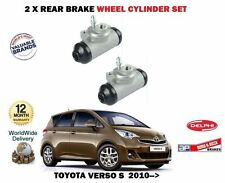 para Toyota Verso S 1.33 1.4 D4D 2010- > 2x freno trasero rueda Cilindros Set