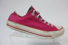 CONVERSE All-Star Canvas Pink Sz 4.5 Kids Skate Sneakers