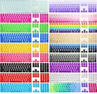 For US Apple imac G6 Desktop PC wired keyboard Skin Cover Protector Rainbow Muti