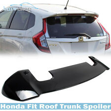 Honda Fit 3rd RS Look Painted Black Rear Roof Boot Spoiler NH731P