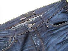 BKE Boutique Stretch Boot Cut Distressed Jean, Dark Wash - Size 31 x 34 MINT