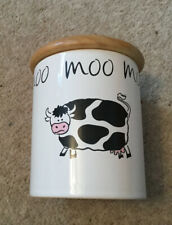 Moo, Cow, Storage Jar/container