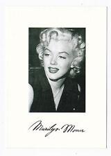 Marilyn MONROE carte postale n° 941