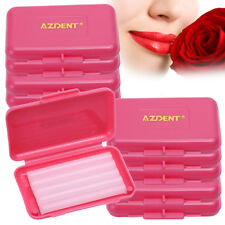 100X AZDENT Dental Orthodontics Wax Rose Flavor for Relief Braces Gum Irritation