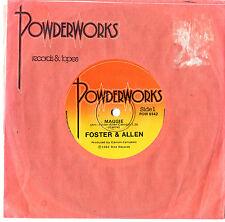 "FOSTER & ALLEN - MAGGIE / THE WILLOW - 7"" 45 VINYL RECORD 1982"
