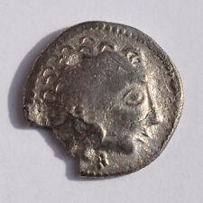 GRIECHEN  Drachme unbestimmt 16mm 2,36g Barbaren Imitation? A12946
