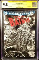 DC Comics ALL-STAR BATMAN #1 CGC SS 9.8 Original Sketch WHO LAUGHS JOKER ROBINS