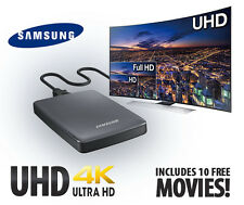 NEW Samsung UHD 4K Video Pack Player ( CY-SUC10SH1 ) - 1 TB HDD & 10 FREE MOVIES