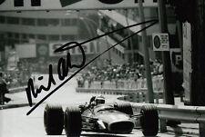 Richard Attwood mano firmado Owen Racing organización Brm F1 6x4 Foto 2.