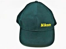 Photography Baseball Cap For Nikon Dslr Camera User Fans Golf Hat Black