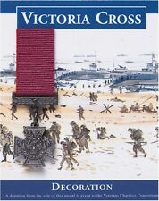 Victoria Cross Repro Medal For Gallantry WW2 Heroes Miniature Reproduction