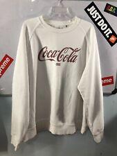 Kith x Coca Cola Crewneck Sweater White Size XL