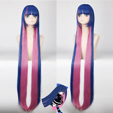 120cm Panty & Stocking with Garterbelt Cosplay party Wig heat resistant Z88