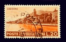 Italy Stamp 1953 / Tourist and Publicity  /Gardone /  Used