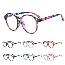 Women Round Eyelasses Frames Glasses Eyewear Optical Spectacle Plain Mirror