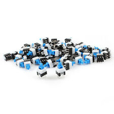 55pcs 6 Pin DPDT Self-locking Power Micro Push Button Switches 7mmx7mm
