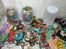 Mystery Jewelry Jars necklaces bracelet lot vintage nwot thrift goodwill resale