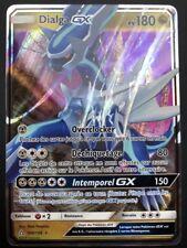 Carte Pokemon DIALGA 100/156 GX Ultra Rare Soleil et Lune 5 SL5 FR NEUF