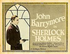 Sherlock Holmes - 1922 - John Barrymore Albert Parker - Vintage Silent Film DVD