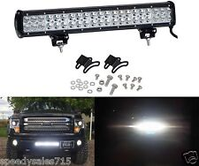 "Nilight 126w Light Bar Led 20"" Spot Combo Beam Work Off Road New Free Shipping"