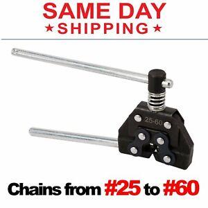 Roller Chain Cutter Breaker Detacher Splitter # 25 35 40 41 50 60 420 415 415H #