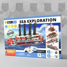 Engino STEM Heroes Sea Exploration Construction Set Educational Toy Ship Boat