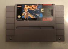 Super Nintendo SNES Starfox