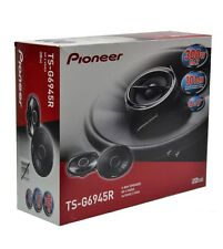 "NEW PIONEER TS-G6945R 300 WATTS 6"" X 9"" 2-WAY COAXIAL CAR AUDIO SPEAKERS 6X9"""