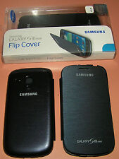 Samsung Brand Flip Cover for Galaxy S III Mini, Black, new in package