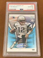 2004 Upper Deck Power Up! Tom Brady #58 PSA 10 GEM MINT POP 10