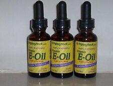 100% NATURAL VITAMIN E OIL 13650 IU 100% NATURAL PURE SKIN HEALTH 3 OZ 3 BOTTLES