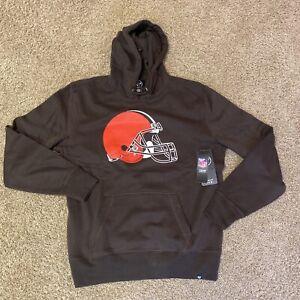 NFL Team Apparel Cleveland Browns Men's Large Pullover Hoodie
