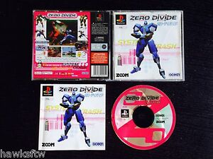ZERO DIVIDE - COMPLETE - FOR PLAYSTATION PS1