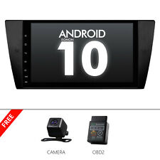 OBD+CAM+Android 10 Car GPS Touch Screen Carplay for BMW 3 Series E90 2005-2012