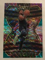 2019-20 Panini Select Karl-Anthony Towns Timberwolves Concourse Tri-Color Prizm