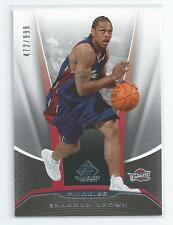 Shannon Brown 2006-07 SP Game Used Rookie Card #225