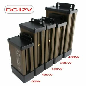 AC DC 220V Power Supply Light Transformers 12 24 V Outdoor Rainproof waterproof