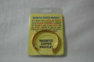 100% Pure Copper Bracelet Arthritis / Circulation Pain Relief Non-Magnetic 13mm