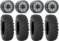 "Raceline Podium Bdlk 14"" Gy Wheels 32"" XTR370 Tires Can-Am Defender"