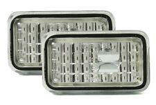 PORSCHE 924 ab 75-88 Klarglas Seitenblinker Blinker rechts & links weiss / klar