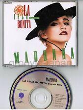 """MADONNA La Isla Bonita Super Mix JAPAN 5"""" CD Collectors Series #9 WPCR-1504 w/PS"""