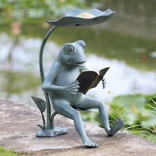 Sensational Frog Nature Statues Lawn Ornaments For Sale Ebay Ocoug Best Dining Table And Chair Ideas Images Ocougorg