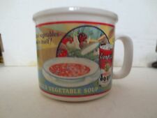Campbell's Vegetable Soup Mug By Westward 1993