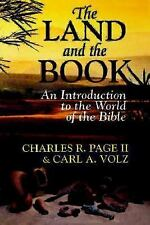 The Land and the Book: An Introduction to the World of the Bible-ExLibrary