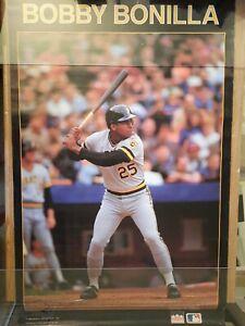 "Rare 1988 Bobby Bonilla Pittsburgh Pirates Starline Poster 27""×32"""