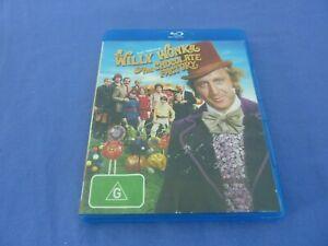 Willy Wonka And The Chocolate Factory Blu-Ray Gene Wilder Free Tracked