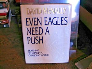 """David McNally """"Even Eagles Need A Push"""" Learning to Soar In A Changing World DJ"""