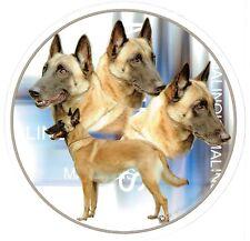 Aufkleber Motiv 3 Malinoi Malinois Belgischer Schäferhund Autoaufkleber Sticker