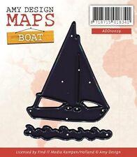 Segelboot - Stanzschablone - Maps Collection von Amy Design (ADD10029)