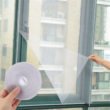 White Anti-Insect Fly Bug Mosquito Window Curtain Net Mesh Screen Protector Pop